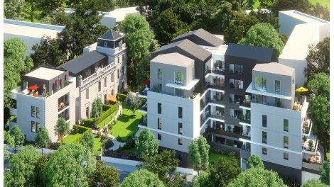 Appartement neuf Les Demeures du Parc investissement loi Pinel à Montpellier