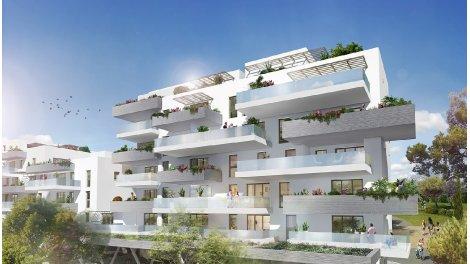 Appartement neuf Skyline éco-habitat à Lattes