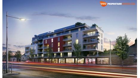 Appartements neufs Contraste investissement loi Pinel à Tours