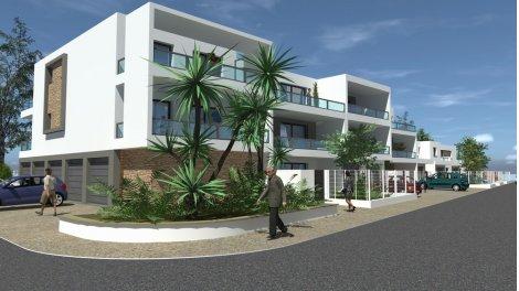 Appartements et villas neuves Côté Port éco-habitat à Saint-Cyprien-Plage