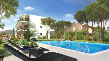 Appartement neuf Le Clos des Albères éco-habitat à Argeles-sur-Mer