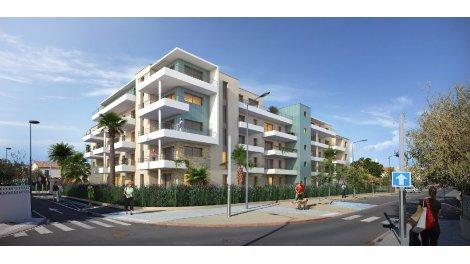 Appartement neuf Saphir éco-habitat à Narbonne-Plage