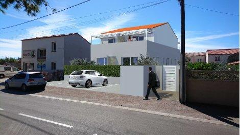 Maisons neuves Blue Marie éco-habitat à Sainte-Marie-la-Mer
