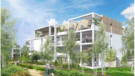 Appartement neuf Loggia Verde éco-habitat à Valras-Plage