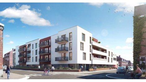 Appartement neuf Les Satines éco-habitat à Houplines