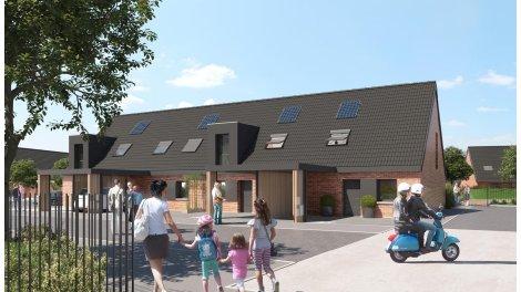 Appartement neuf Rive Gauche éco-habitat à Armentières