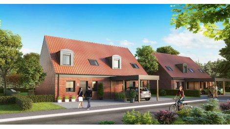 Appartement neuf La Cour des Grands éco-habitat à Ostricourt