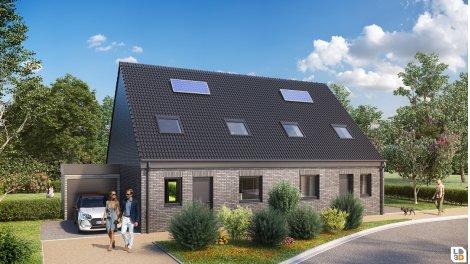 eco habitat neuf à Santes