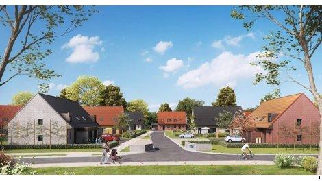 Maisons neuves Les Villas Dolia investissement loi Pinel à Bailleul