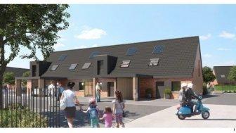 Maisons neuves Rive Gauche éco-habitat à Armentières