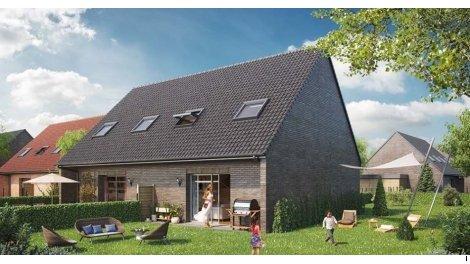 Maisons neuves Les Pres de Florine investissement loi Pinel à Douvrin