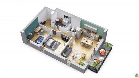 logement neuf à Valenciennes