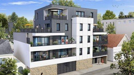 Appartement neuf Les Joyaux de l'Erdre à Nantes