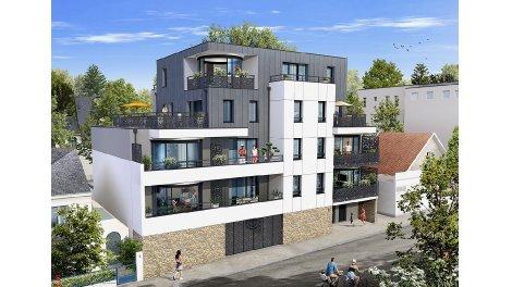 Appartement neuf Les Joyaux de l'Erdre investissement loi Pinel à Nantes