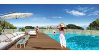 Appartements neufs Villa Levante éco-habitat à Bormes les Mimosas