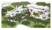 Appartements neufs Villa Bianca éco-habitat à Marseille 12ème