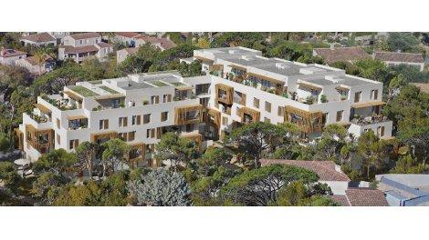 Appartement neuf Villa Bianca à Marseille 12ème