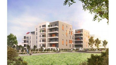 Appartement neuf Rouen éco-habitat à Rouen
