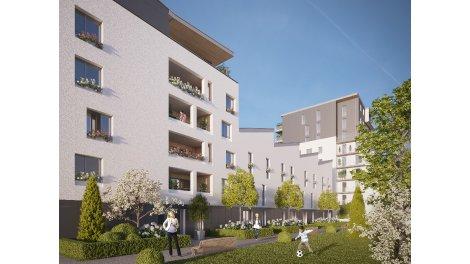 investissement immobilier neuf rouen co quartier luciline. Black Bedroom Furniture Sets. Home Design Ideas