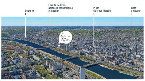 Appartement neuf Rouen Centre à Rouen