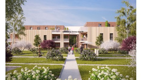 Appartement neuf Mont-Saint-Aignan - Village investissement loi Pinel à Mont-Saint-Aignan