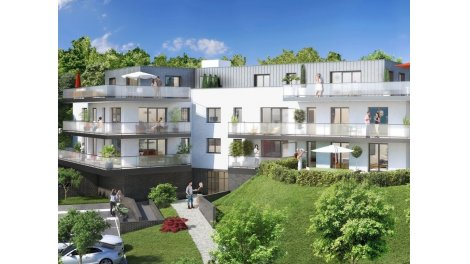 Appartements neufs Mont-Saint-Aignan - Chemin de Clères investissement loi Pinel à Mont-Saint-Aignan