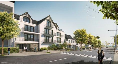 Appartement neuf La Riviéra investissement loi Pinel à Bénodet