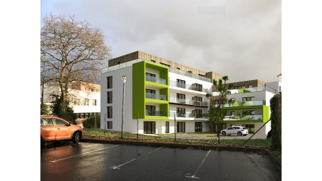 Appartement neuf Green Art investissement loi Pinel à Brest
