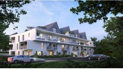 Appartement neuf Les Residences Tri Men éco-habitat à Concarneau
