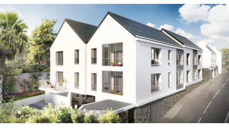 Appartement neuf Les Terrasses de la Baie éco-habitat à La Forêt-Fouesnant
