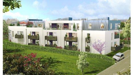 Appartement neuf La Residence du Rody éco-habitat à Le Relecq Kerhuon
