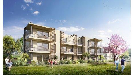 Appartement neuf Le Clos de Kervouyec investissement loi Pinel à Quimper