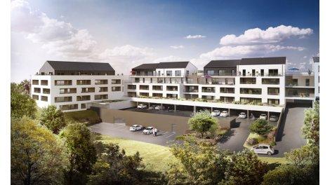 Appartement neuf Les Hauts de Feunteun éco-habitat à Quimper