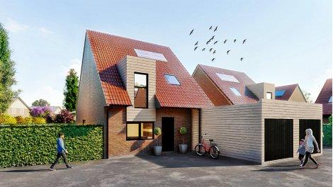 Maisons neuves Le Hameau de Cazeaux investissement loi Pinel à La-Chapelle-d'Armentieres