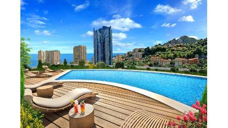 Appartement neuf Sun Paradise investissement loi Pinel à Beausoleil