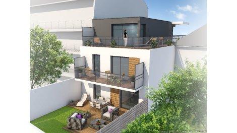 Appartements neufs Villa Quiera investissement loi Pinel à La Baule-Escoublac