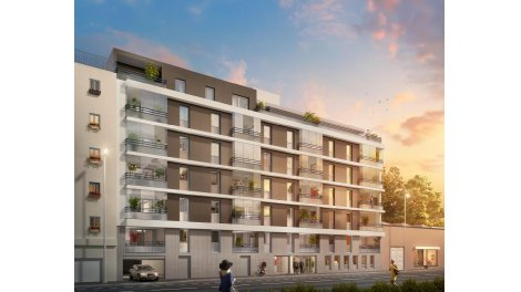 Appartement neuf City Green investissement loi Pinel à Villefranche-sur-Saône