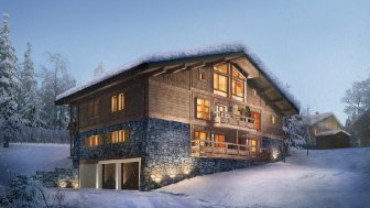 "Programme immobilier du mois ""STALLION EXCLUSIVE LODGE - Megève"" - Megève"
