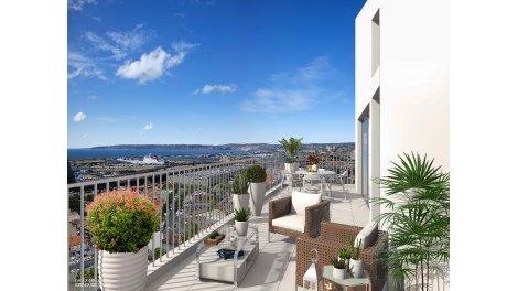 Appartement neuf Horizon Méditerranée à Marseille 2ème