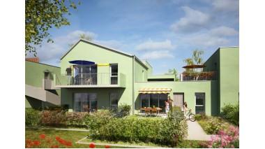 Appartement neuf Horizon Nature éco-habitat à Besançon