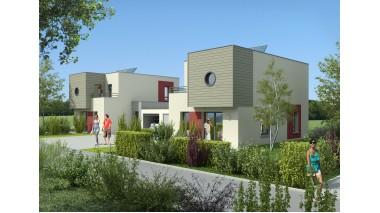 Maisons neuves Les Patios de la Plaine investissement loi Pinel à Blotzheim