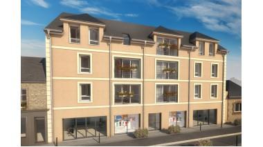 Appartement neuf Résidence Coeur Guillaume éco-habitat à Dives-sur-Mer