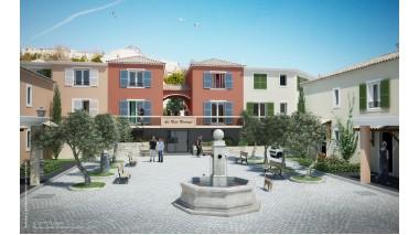 Maisons neuves Le Patio Provencal investissement loi Pinel à Cagnes-sur-Mer