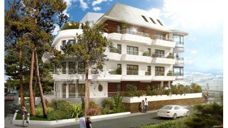 Appartements neufs Villa les Troves investissement loi Pinel à La Baule-Escoublac
