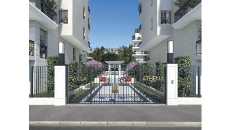 Appartement neuf Villa Athéna investissement loi Pinel à Issy-les-Moulineaux