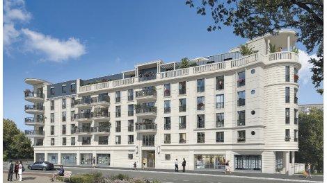 Appartement neuf Villa Astoria investissement loi Pinel à Suresnes