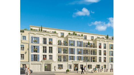 Appartement neuf Villa Gabriella investissement loi Pinel à Maisons-Laffitte
