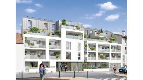 Appartement neuf Villa Florian investissement loi Pinel à Gagny