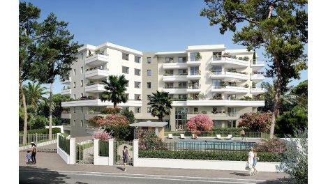 Appartement neuf 27 Tanit investissement loi Pinel à Juan-les-Pins