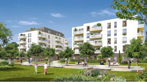 Appartements et maisons neuves Carré Jardin investissement loi Pinel à Hoenheim